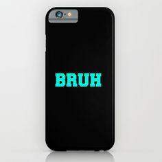 BRUH iPhone & iPod Case