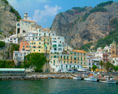 The amazing Amalfi coast