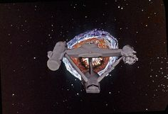 Doomsday Machine and Rear View Constellation Enterprise Model, Uss Enterprise Ncc 1701, Star Trek Tv, Star Trek Ships, Star Wars, Star Trek Doomsday Machine, Star Trek Wallpaper, Start Trek, Captain Janeway