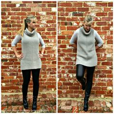 Sleeveless Sweater Crochet Pattern  Ribbed Hem Tunic Vest