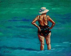 """Catching Up"" - Original Fine Art for Sale - © Karin Jurick"