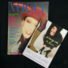Pat Cleveland on Italian Vogue cover and her Autobiography.
