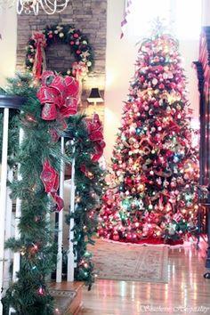 Marc\u0027s Christmas Home Tour: Part 1 & 209 best Christmas Home Tours images on Pinterest   Xmas Christmas ...