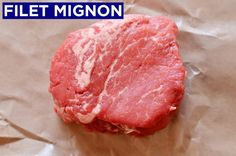 WHY IT'S GREAT: The filet mignon comes from the beef tenderloin, which, true to its name, is the most tender part of the cow. It is boneless and has very little fat, which means it doesn't have as much flavor as other cuts of steak, but its extreme tenderness makes up for that. Also, the filet mignon is a thick cut that's easy to sear on all sides and cook to a perfect medium rare.Note: Often, a filet mignon from the butcher comes tied with string to help it keep its shape while cooking…