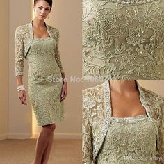 Gorgeous Strapless Lace Mother of the Bride Dresses 2014 with Free Long Sleeve Jacket for Beach Wedding Evening Party Gown $155.00