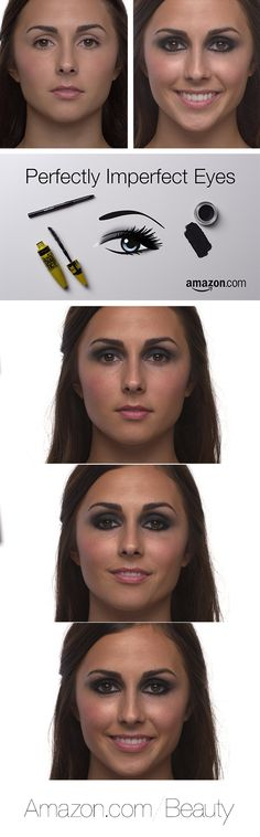 DIY Smoky Eye Tutorial on How to Create Perfectly Imperfect Eyes   Amazon.com/Beauty