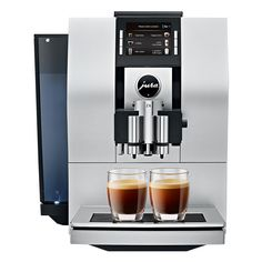 Jura 15093 Z6 Coffee Machine with Pulse Extraction Process, Aluminum