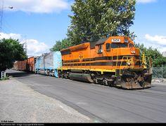 PNWR #3604 Portland & Western Railroad EMD SD45-2 at Salem, Oregon