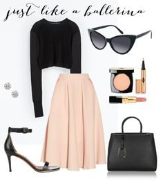 loving a prim + proper midi skirt--- think carrie bradshaw meets posh spice Ballet Fashion, Mode Style, Fashion Outfits, Womens Fashion, Chic, Passion For Fashion, Dress To Impress, Fashion Beauty, Dress Up