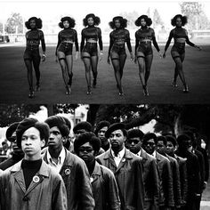 Palatable Black Power Movement — ✊🏾😃Best Black History Month ever!❤️so many fun. Black History Month People, Black History Facts, Costume Beyonce, Black Panthers Movement, Black Panther Costume, Vintage Black Glamour, Pelo Natural, Natural Hair, By Any Means Necessary
