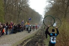 Paris-Roubaix (2012) - You're not likely to win the race here, but you can lose it