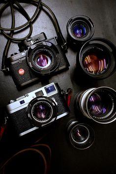 https://flic.kr/p/Frp2Yb   Leica M4p and M9p and lenses   Leica M4p, Leica M9p…