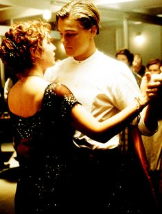 "Winslet recalls that she and DiCaprio would sometimes lie on the ""Titanic"" set smoking hand-rolled cigarettes and staring up at the stars. Other times, she would watch him play tomb raider on nintendo; Or they would sing to each other the Bette Midler hit ""Wind Beneath My Wings."" (An indirect, on-site spoof of the Titanic scene in which Jack leads Rose to the prow of the ship, and tells her to close her eyes and spread out her arms.)"