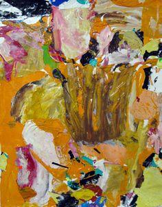 "Saatchi Art Artist robert tavani; Collage, ""Orange Way"" #art"
