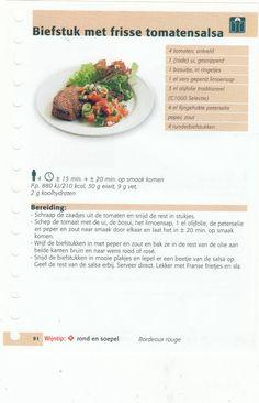 biefstuk met frisse tomatensalsa