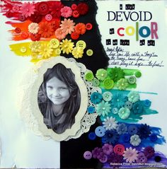 A Life Devoid Of Color Is No Life At All... *Basically Bare* - Scrapbook.com