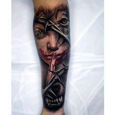 Werewolf Forearm Tattoo - tattooideas247.com/werewolf-forea…