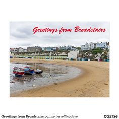 Greetings from Broadstairs postcard