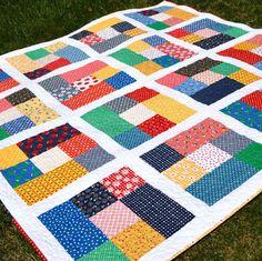 Fat Quarter Cubes - A Short Cut Quilt!!