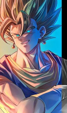 Dragon Ball Z, Gogeta E Vegito, Goku Wallpaper, Ball Drawing, Cool Dragons, Animes Wallpapers, Aesthetic Anime, Anime Art, Artwork