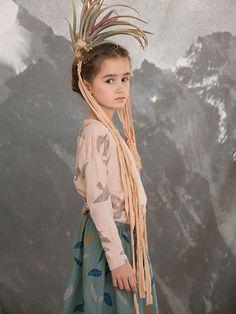 Bobo Choses AW15 bird T-shirt available at http://www.imps-elfs.com/ #kidsfashion #impsandelfs #AW15
