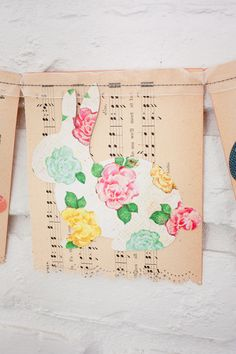 Heart Handmade UK: Spring Time Garland from Crate Paper by Katie Ehmann
