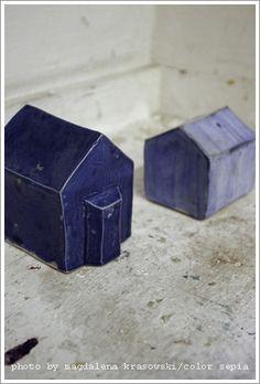 ...little blue houses...