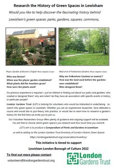Latest – Research the history of greenspaces in Lewisham – Nature Conservation Lewisham London Garden, Land Use, Tree Forest, West End, Forests, Trees To Plant, Research, Conservation, This Is Us