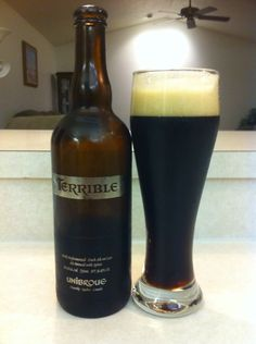 Terrible by Unibroue. 10.5% ABV
