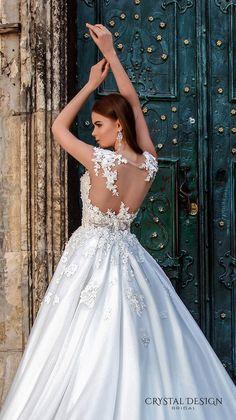 crystal design bridal 2016 wedding dresses 6 - Deer Pearl Flowers / http://www.deerpearlflowers.com/wedding-dress-inspiration/crystal-design-bridal-2016-wedding-dresses-6/