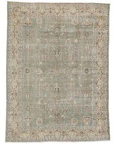 Vintage Turkish Wool Rug - 8.2' x 11.2' - Rug option (check size)