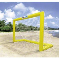 #Beach #Handball  Sport machen und am Strand sein? Kein Problem mit den aufblasbaren Beachhandball Toren von Sport-Thieme.