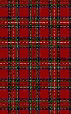 red.quenalbertini: Red tartan