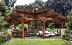 outdoor spaces   Outdoor Living Spaces   Timber Home Blog   Riverbend Timber Framing