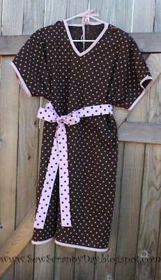 Sew Scrappy Day: Homemade Hospital Gown