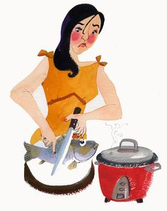 Can't cook - Meilo So Illustrations (c)