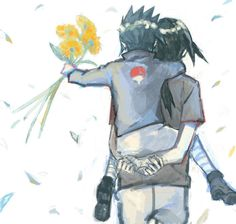 Little Sasuke and Itachi