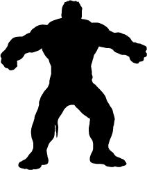 the hulk silhouette - Sök på Google