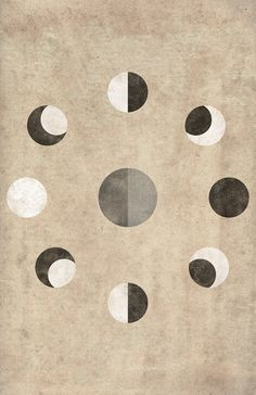 Poster Print of the Moon Phases by cegphotographics on Etsy, $30.00