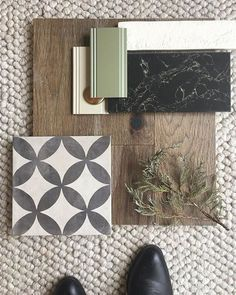 FLATLAY FRIDAY // is a tradition that started during 2018 and is one that will continue into We love showing you what materials, colours + textures we are using in our projects, and we love dreaming up concepts from the smallest things that inspire us. Küchen Design, House Design, Design Color, Material Board, Farmer's Daughter, How To Show Love, Home Interior, Interior Design Boards, Luxury Interior