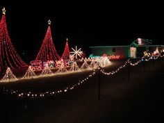 johnston county nc christmas lights   william bottomley uses lights in his high country lights yard display ...