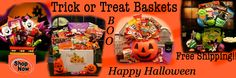 Yes Discounted For Your Goblins! Come to oceansidegiftbaskets.com to Grab Your Halloween Trick or Treat Gift Baskets Have Been Discounted Before They Are All Gone!! Happy Halloween From Oceanside Gift Baskets