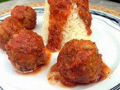 Vegan & Νόστιμο: Vegan Κεφτεδάκια Κοκκινιστά Ethnic Recipes, Food, Simple, Essen, Meals, Yemek, Eten
