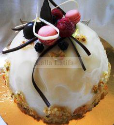 Entremet à la noix de coco - Les secrets de cuisine par Lalla Latifa