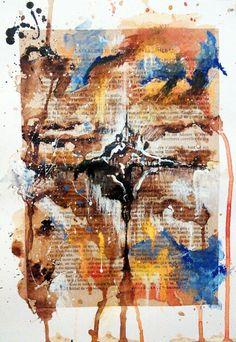 """Island of the Saint"" Miscellaneous, 21 x 30 cm, November 2015"