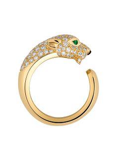Anillo de oro y esmeralda (Cartier).
