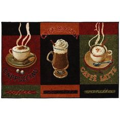 Small Kitchen Rug Caffe Latte Washable Rugs Jcpenney