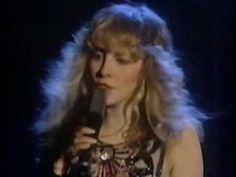 """Stevie Nicks ~ Leather and Lace Live 1981  Enjoy a great song as you peruse my """"Pearls & Lace"""" board."""