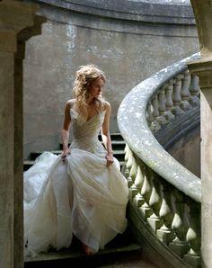 Keira Knightley  looks like Cinderella : )