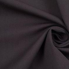 Chaiken Charcoal Italian Stretch Cotton Woven